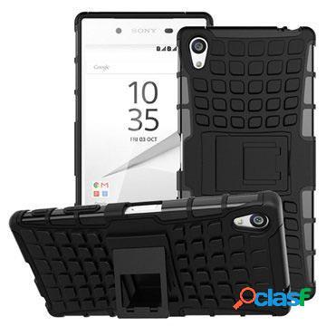 Custodia Ibrida Antiscivolo per Sony Xperia Z5 Premium,