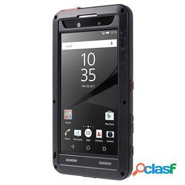 Custodia Ibrida Love Mei Powerful per Sony Xperia Z5 Premium