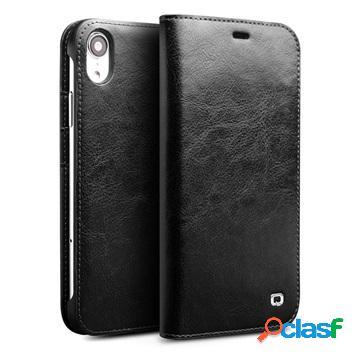 Custodia Portafoglio Qialino Classic in Pelle per iPhone XR