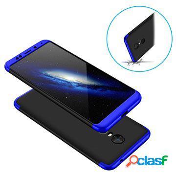 Custodia Protettiva 360 per Xiaomi Redmi Note 5 - Blu / Nera