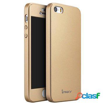 Custodia Protettiva iPaky 360 per iPhone 5/5S/SE - Dorata