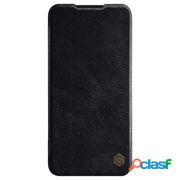 Custodia a Flip Nillkin Qin per Xiaomi Mi A3, Mi CC9e - Nera