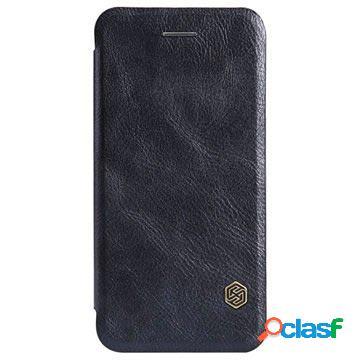 Custodia con Flip Nillkin Serie Qin per iPhone 6 / 6S - Nera