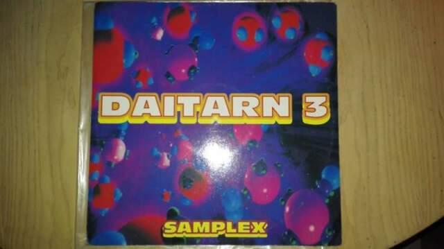 "DAITARN 3 ""samplex MIX ) disco/ VINILE 33,cartoni"