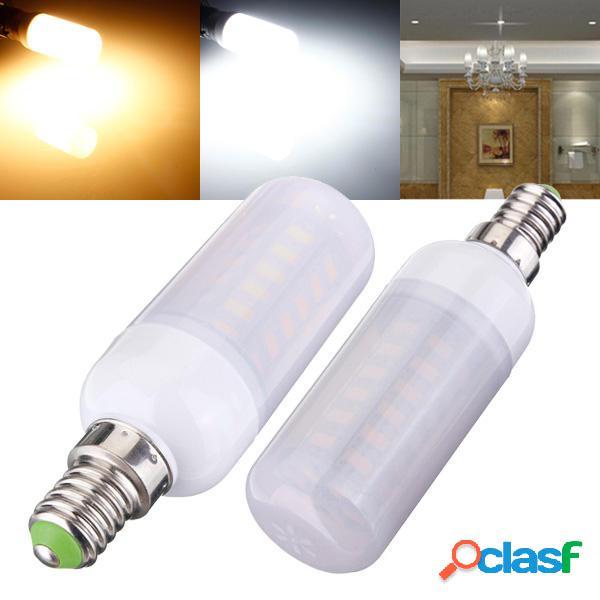 E14 5W 48 SMD 5730 ac lampadine 220v LED luce mais con