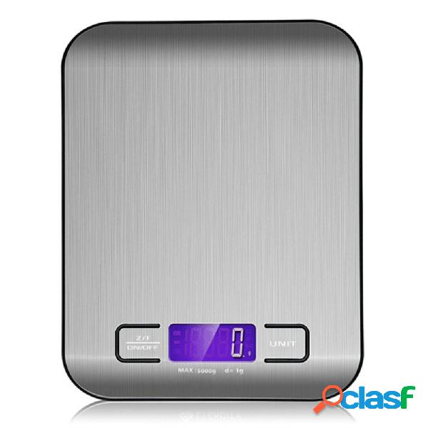 Elettronica LCD Cucina digitale Scala 5000 g / 1 g