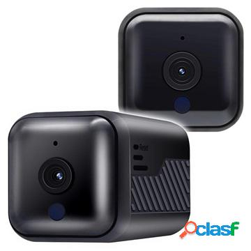 Escam G16 Mini Security Camera with WiFi - 1920x1080 - Black