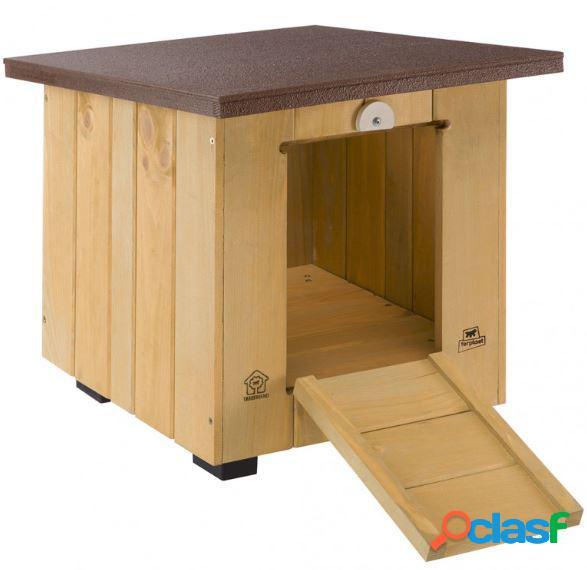 Ferplast baita cuccia per cani in legno da esterno 40