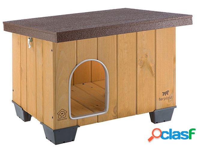 Ferplast baita cuccia per cani in legno da esterno 50