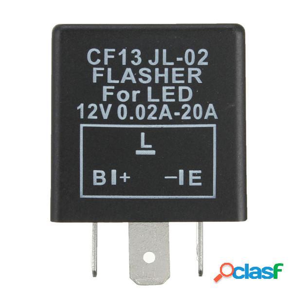 Fix relè auto CF13 lampeggiatore 3 pin LED spia del flash