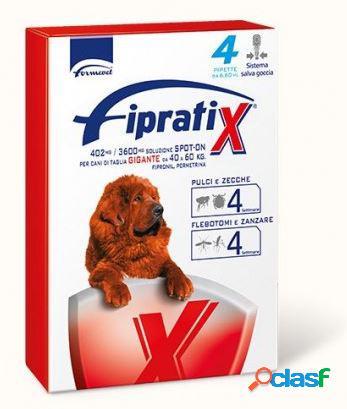 Formevet fipratix per cani taglia gigante 4 pipette 6,60 ml