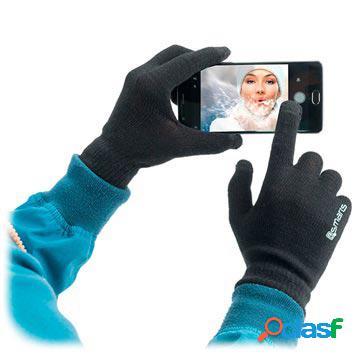 Guanti Inverno per Touchscreen 4smarts - M/L - Nero