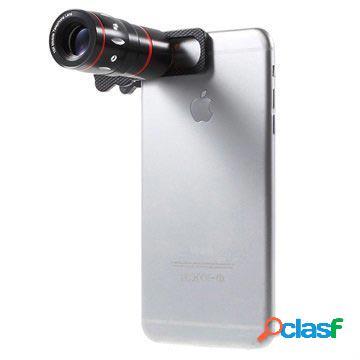 Kit Universale 4 in 1 con Clip per Obiettivo Fotocamera -