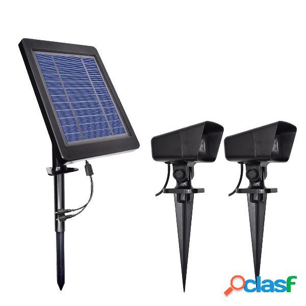 LED a energia solare Spotlight Spot lampada Piscina da