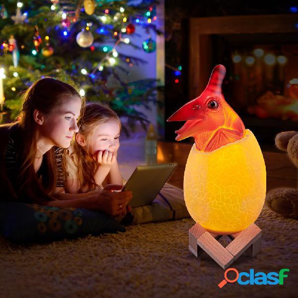 Loskii KL-02 decorativo 3D Pterosaur Egg Smart Night Light