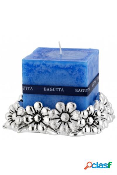 Lotto di Bomboniere Portacandele con margherite e candela