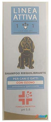 Love for pet shampoo riequilibrante con ozono 250 ml