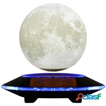 Magnetic Levitating 3D Moon LED Lamp / Night Light