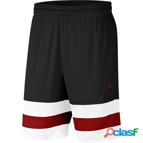 Nike Short Jordan Jumpman Logo Uomo BLACK/WHITE/GYM RED/GYM