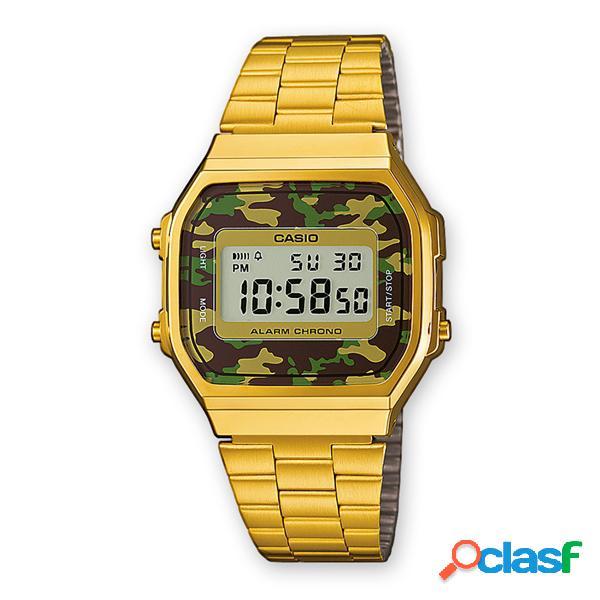 Orologio Casio gold unisex digitale mod. A168WEGC-3