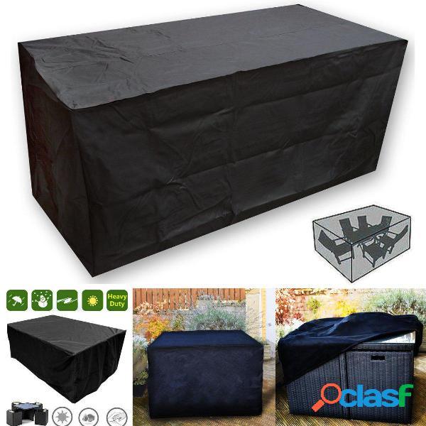 OxbridgeBlack Rattan impermeabile Cube Outdoor Garden Patio