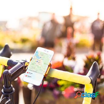 Porta Cellulare in Acciaio per Bici