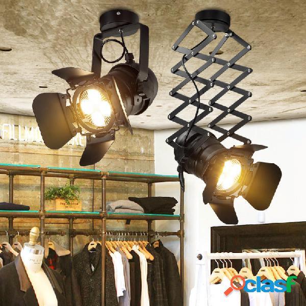 Retro industriale LED Lampada da soffitto a binario
