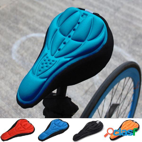 Sella per bicicletta 3D Soft Coprisedile Gel Silicone