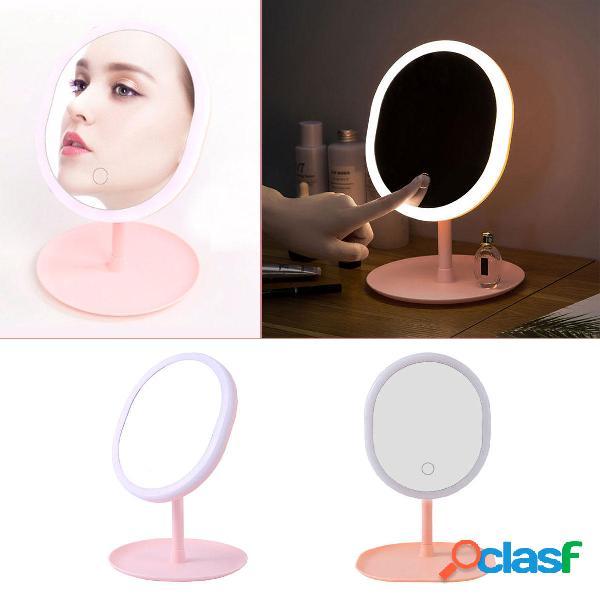 Specchio per il trucco 36 LED Luci Touch screen regolabile a