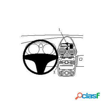 Staffa di Montaggio Brodit 853967 ProClip per Opel Corsa