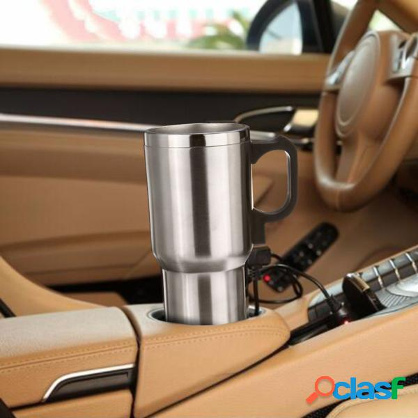 Tazza Termica in Acciaio Inox per Auto