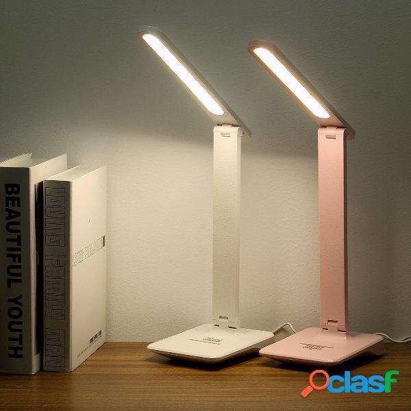 USB Touch Diming LED Scrivania lampada Lampada da comodino