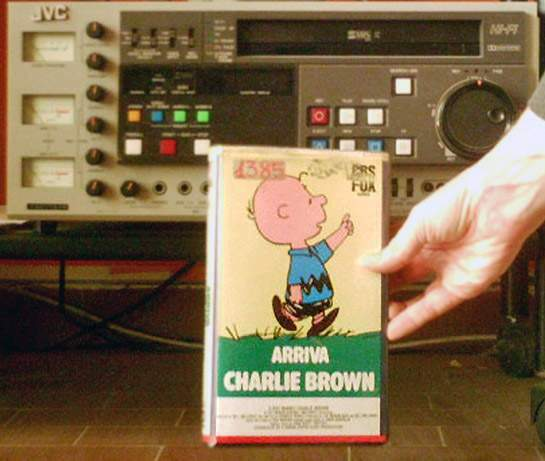 VHS: Arriva Charlie Brown (primo film dei Peanuts in