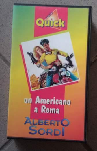 VHS Un Americano a Roma Alberto Sordi