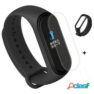 Xiaomi Mi Band 4 Silicone Wristband & TPU Screen Protector -