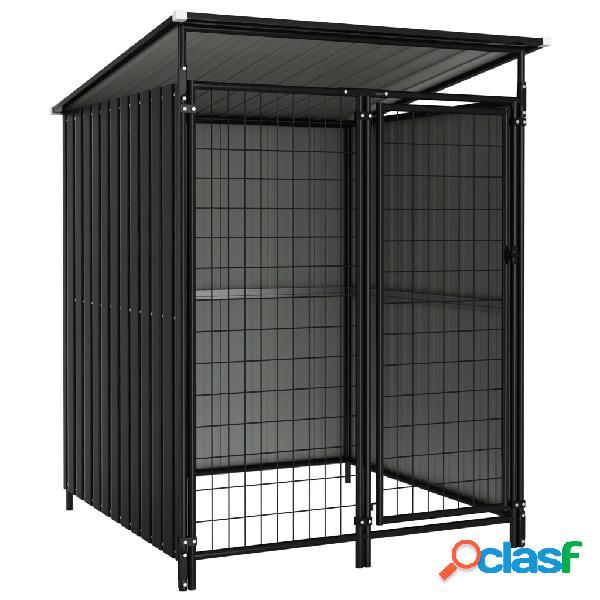 vidaXL Box per Cani da Esterno 133x133x163 cm