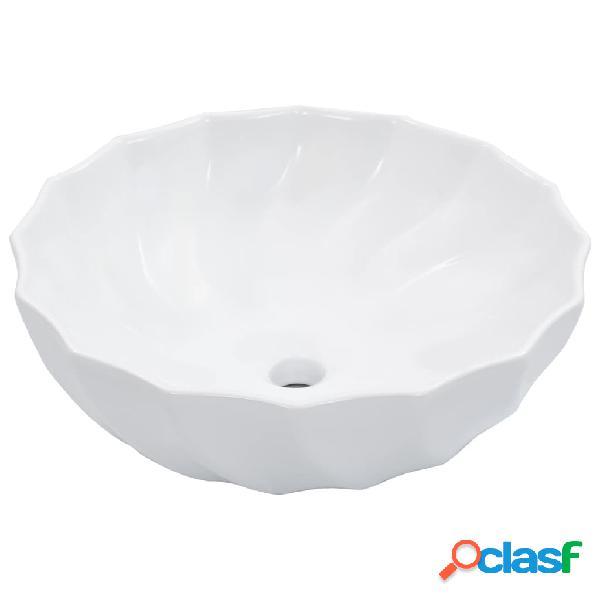 vidaXL Lavandino 46x17 cm in Ceramica Bianco