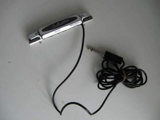 Pick up per acustica di facile montaggio alla buca