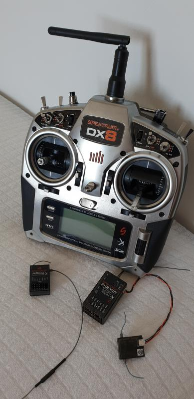 Vendo Radio Spektrum DX8