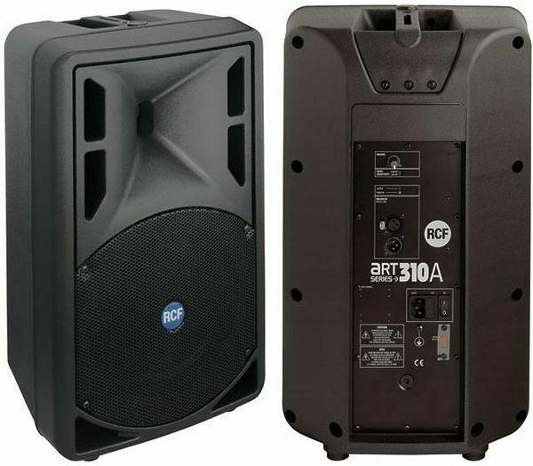 Affitto Noleggio Impianto audio casse sound RCF  Watt