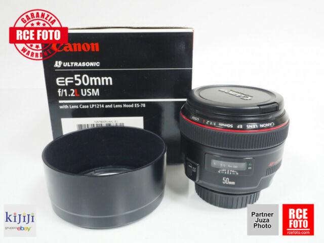 Canon EF 50 F1.2 L USM (Canon)