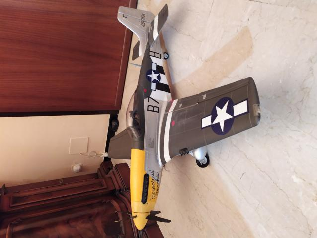 Mustang p51 nuovo in epo mm