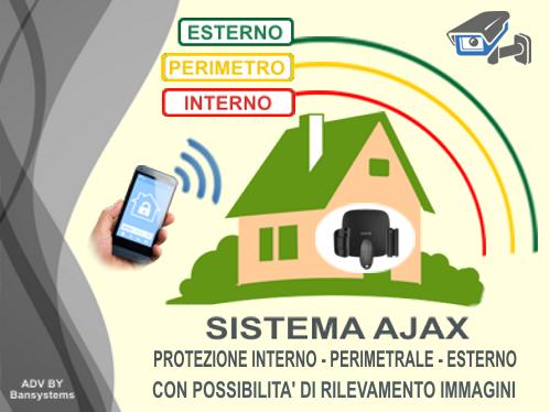 Sistema di allarme antifurto senza fili conveniente