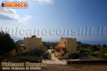 Villa vista mare a Lipari