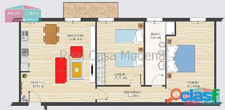Appartamento Ristrutturato Primo Piano