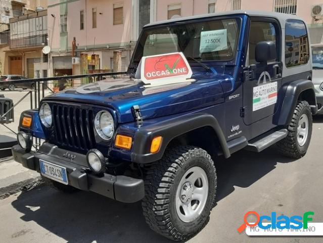 JEEP Wrangler 4ª serie benzina in vendita a Serradifalco