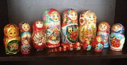Matrioska originale russa nuovs