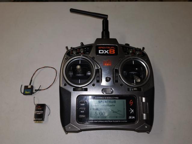 Spektrum DX8 con ricevente