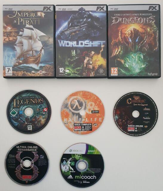 8 Videogiochi per computer / pc / xBox SUPER PREZZO