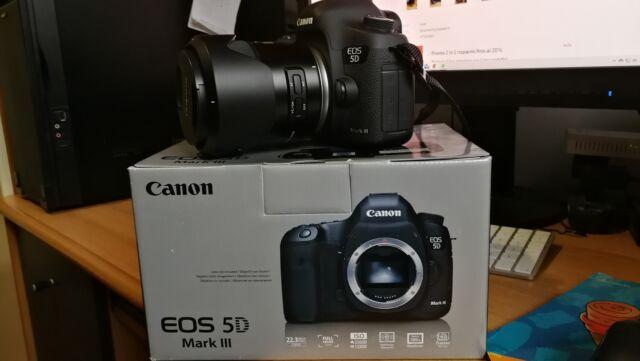 Canon 5D Mark iii come nuova